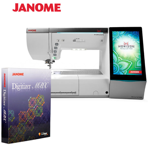 JANOME MEMORY CRAFT 15000 HORIZON MBXSET