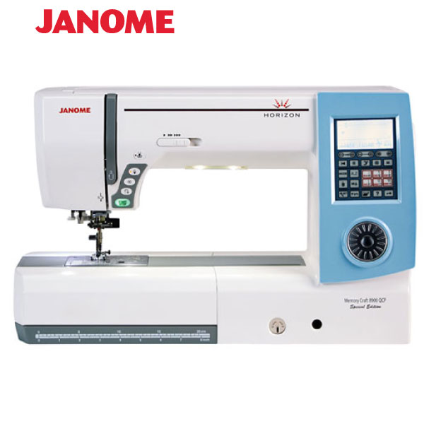 JANOME MEMORY CRAFT 8900QCP SE